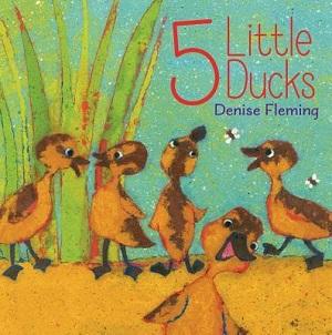 <i>5 Little Ducks</i> Childrens picture book