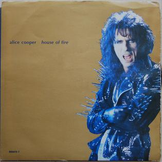 House of Fire 1989 single by Alice Cooper featuring Joe Perry