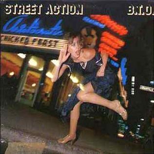 <i>Street Action</i> 1978 studio album by Bachman–Turner Overdrive