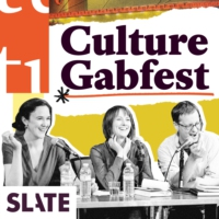 <i>Slates Culture Gabfest</i> American podcast from Slate, hosted by Stephen Metcalf, Dana Stevens, and Julia Turner