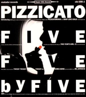Resultado de imagen para pizzicato five Five by Five (1994)