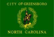 Flag of Greensboro, North Carolina