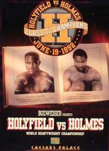 Evander Holyfield vs. Larry Holmes