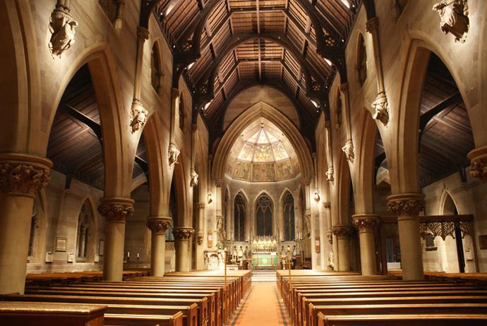 File:Interior, The parish church of St Augustine of Hippo ...