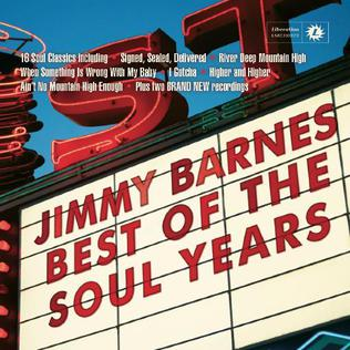 <i>Best of the Soul Years</i> 2015 greatest hits album by Jimmy Barnes