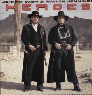 <i>Heroes</i> (Johnny Cash and Waylon Jennings album) 1986 studio album by Johnny Cash and Waylon Jennings