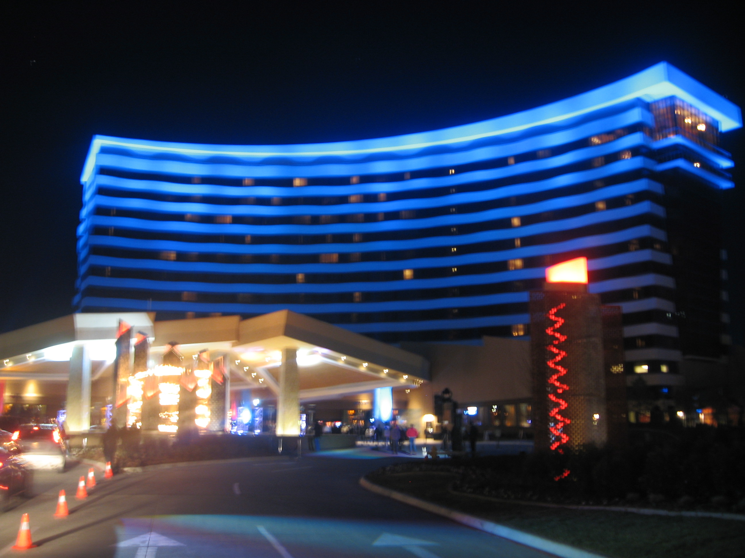 File New Choctaw Hotel At Night Jpg