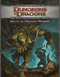 <i>King of the Trollhaunt Warrens</i> Dungeons & Dragons module