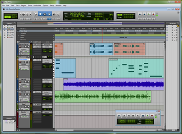 Pro Tools 9 running on Windows Protools9screen.png