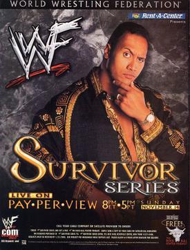 Post image of WWE Survivor Series 1999