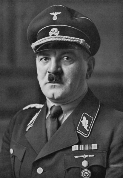 Nazi officer, First commander of the SS
