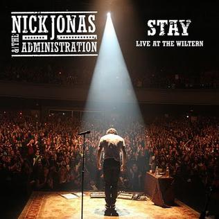 <i>Stay</i> (Nick Jonas & the Administration song)