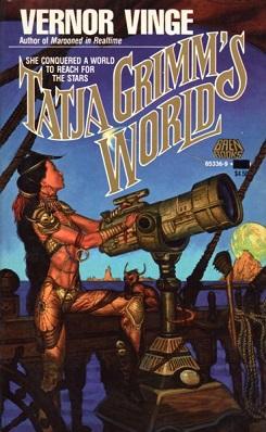 <i>Tatja Grimms World</i> novel by Vernor Vinge