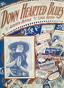 Down Hearted Blues sheet music cover.jpg