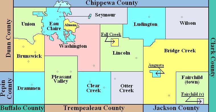Eau Claire County Wisconsin Wikipedia