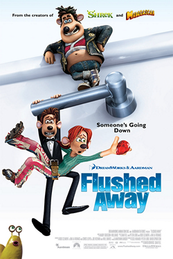 Flushed Away (2006) movie poster