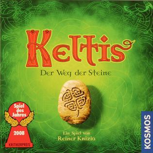 <i>Keltis</i> board game of Reiner Knizia