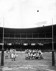 The game-winning field goal in the 1950 NFL championship was the highlight of Groza's long career.