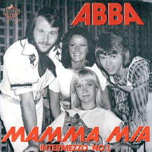 Cover image of song Mamma Mia by ABBA