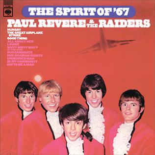 <i>The Spirit of 67</i> (Paul Revere & the Raiders album) 1966 studio album by Paul Revere & the Raiders