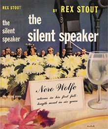 <i>The Silent Speaker</i> book by Rex Stout