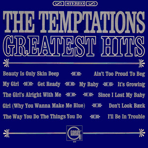 <i>Greatest Hits</i> (The Temptations album) compilation album by The Temptations