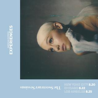 The Sweetener Sessions 2018 concert series by Ariana Grande