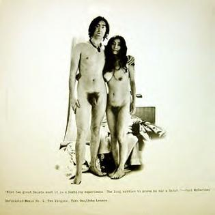 <i>Unfinished Music No. 1: Two Virgins</i> 1968 studio album by John Lennon and Yoko Ono