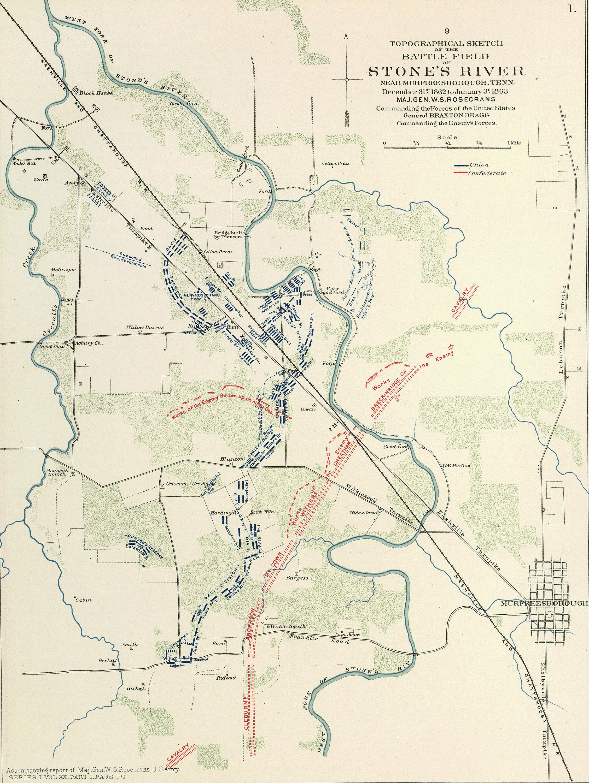 file battle of stones river  dec 31 1862 to jan 3  1863 png