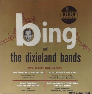 <i>Bing and the Dixieland Bands</i> 1951 compilation album by Bing Crosby