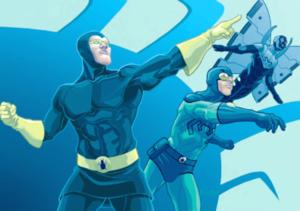 Blue Beetle superhero
