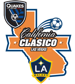 California Clásico Soccer rivalry between the LA Galaxy and the San Jose Earthquakes.