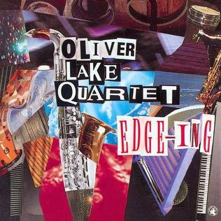 <i>Edge-ing</i> 1993 studio album by Oliver Lake