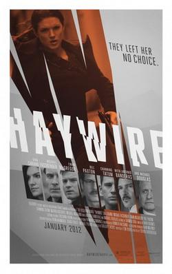 Movie release poster for Haywire, courtesy Relativity Media
