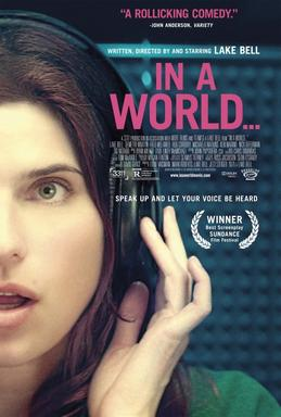 Picture of a movie: In A World