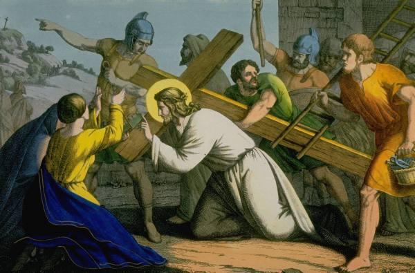 file jesus carrying cross jpg wikipedia