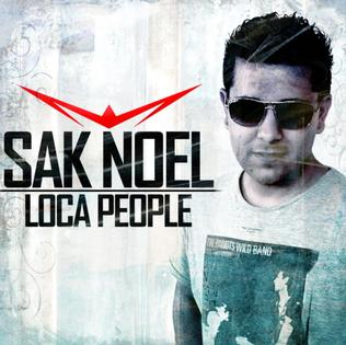 Sak Noel — Loca People (studio acapella)