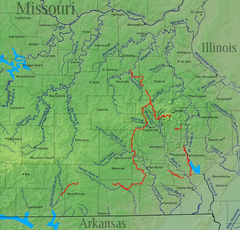 File:Ozark Trail completed sections w relief v2.jpg - Wikipedia