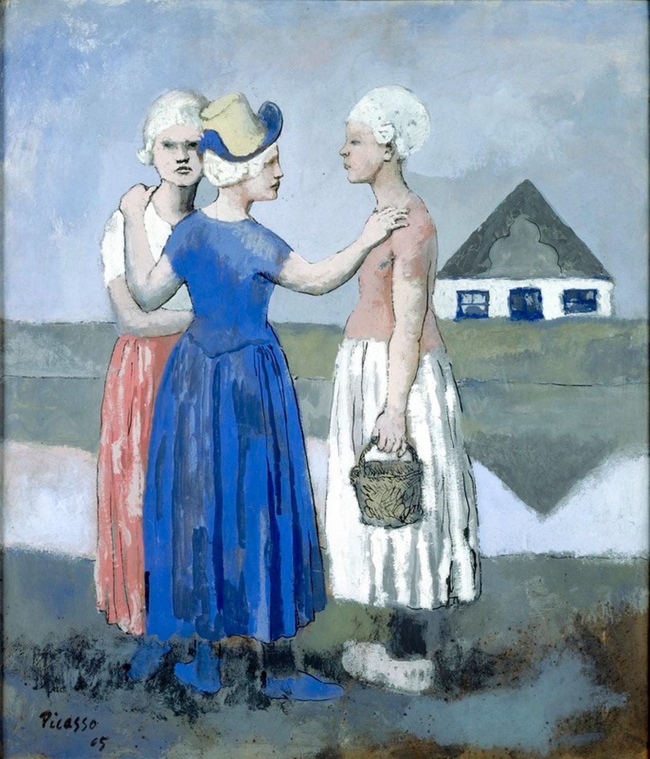 Picasso, Les trois Hollandaises