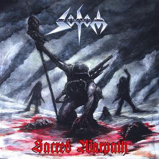 <i>Sacred Warpath</i> extended play by Sodom