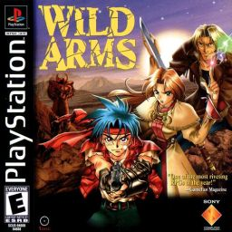 Wild Arms North American (NTSC US/Canada) packaging