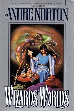 <i>Wizards Worlds</i> book by Andre Norton
