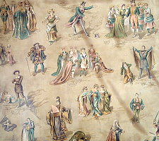Wallpaper showing characters from Pirates and other Savoy operas