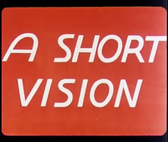 Picture of a TV show: A Short Vision