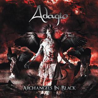 <i>Archangels in Black</i> 2009 studio album by Adagio