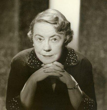 Portrait of Anne O'Hare McCormick