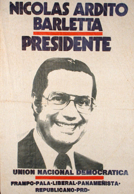 1984 election poster in support of Barletta