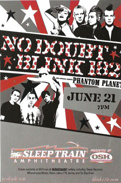 Summer Tour 2004 Blink 182 And No Doubt Wikipedia