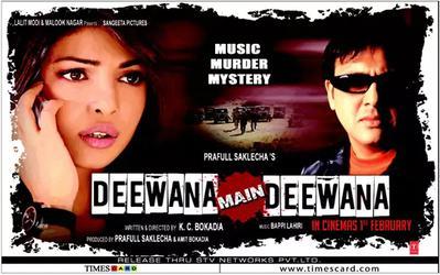 Deewana Deewana Song lyrics in English