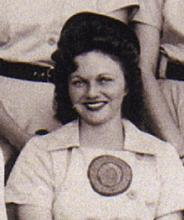 Dorothy Wind All-American Girls Professional Baseball League player